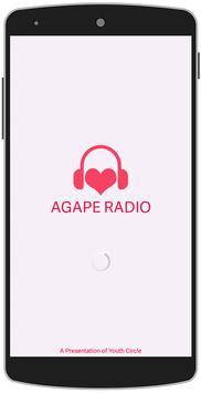 Agape Radio - Christian Radio poster