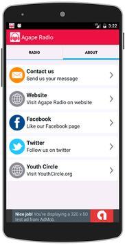 Agape Radio - Christian Radio apk screenshot