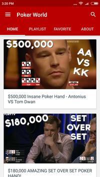 iWorld: Poker World poster