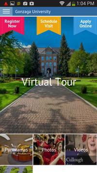 Gonzaga Virtual Tour poster