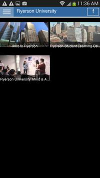 Ryerson University screenshot 2