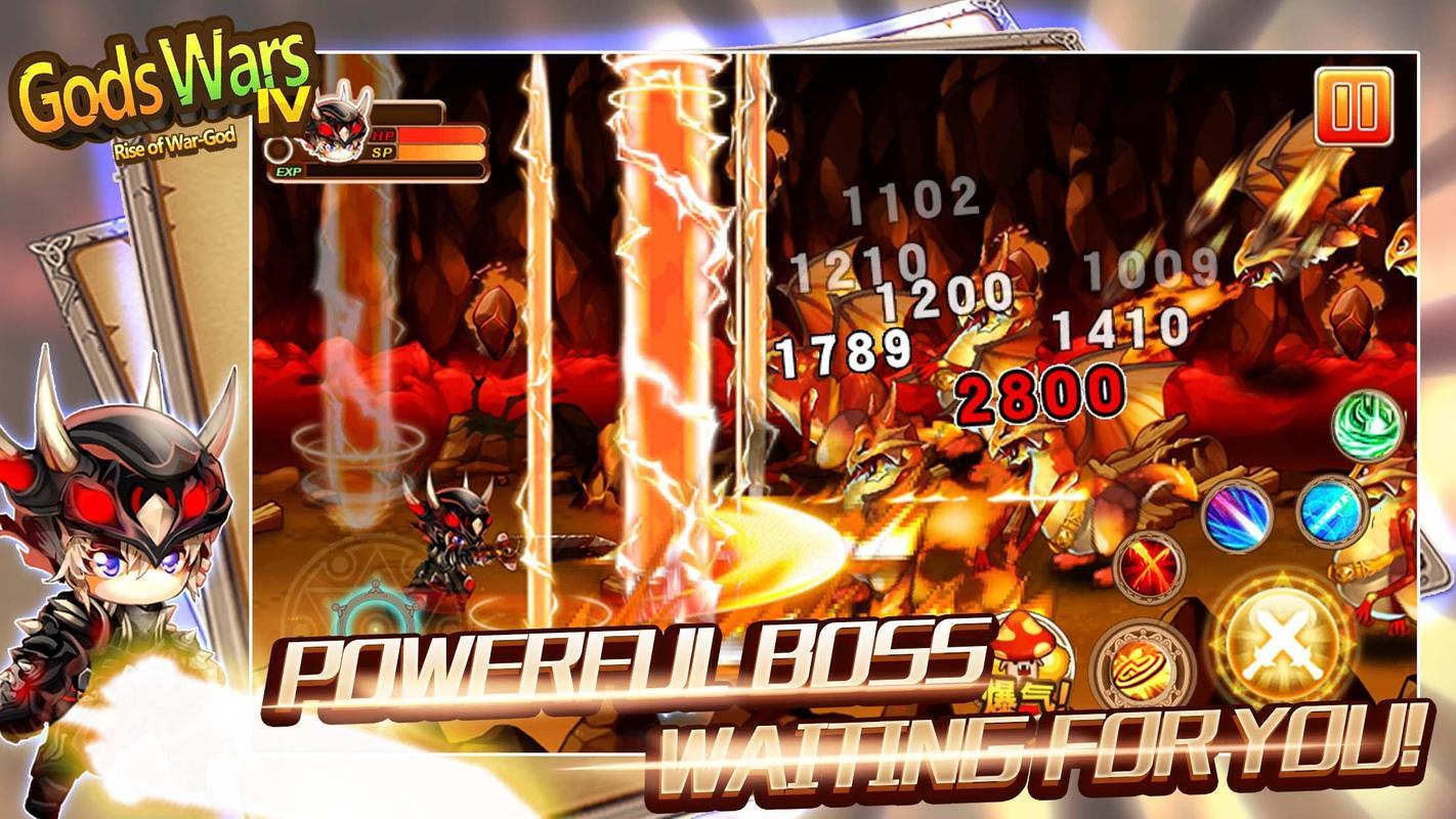 Gods Wars Ex Vampire Gameplay iOS / Android - YouTube ...
