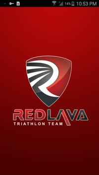 RedLava triathlon Team poster