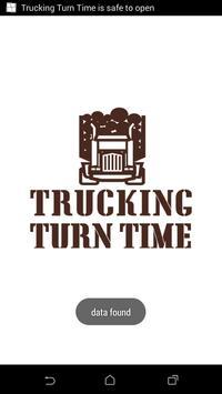 Trucking Turn Time poster