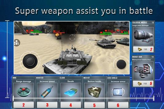 Super Tank Wars apk screenshot