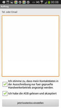 Handwerker Finder apk screenshot
