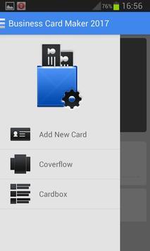 Business Card Maker 2017 screenshot 1