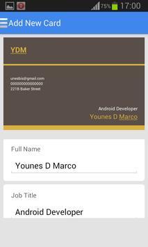 Business Card Maker 2017 screenshot 4