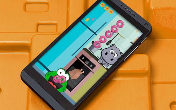 Tap Hungry Frog: Feed Pet apk screenshot