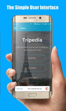 Tripedia - App Booking Hotels & Flights poster