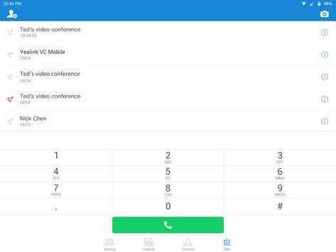 Yealink VC Mobile screenshot 10