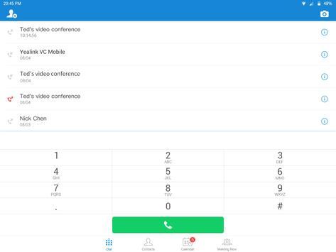Yealink VC Mobile apk screenshot
