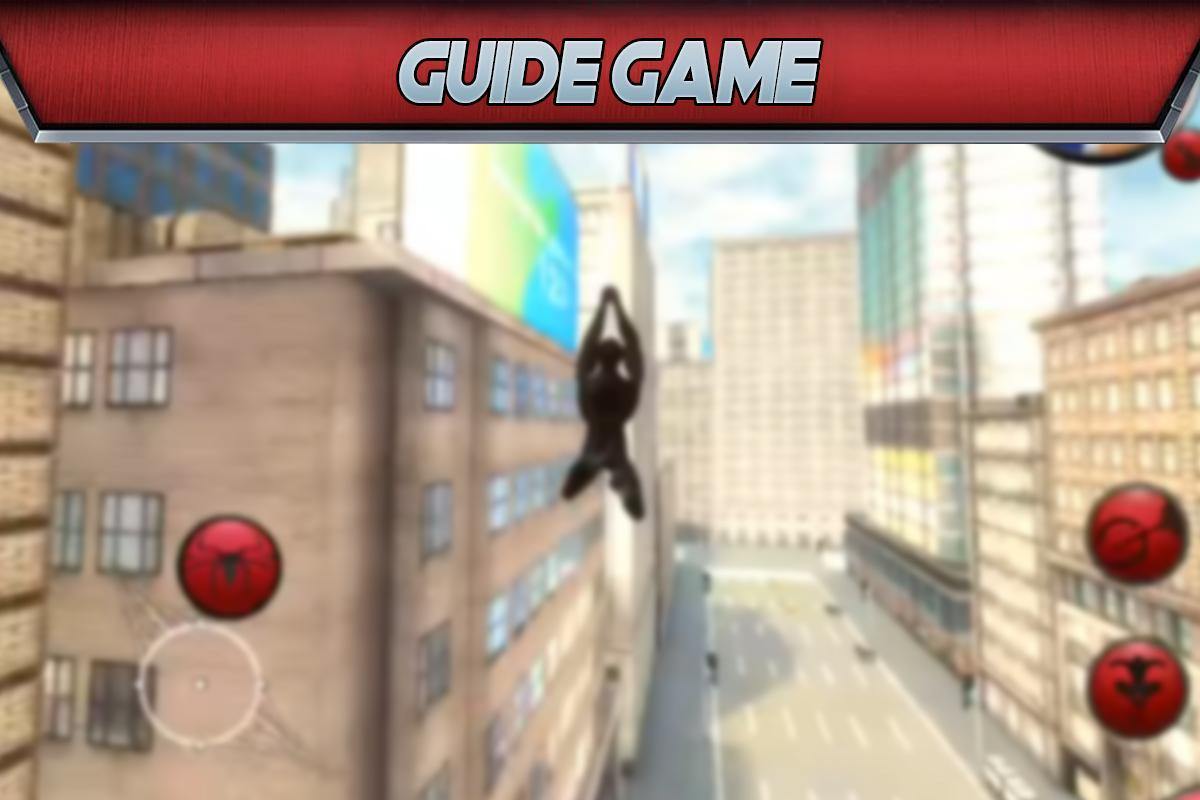 guide amazing spider-man 3 apk download - free books & reference app