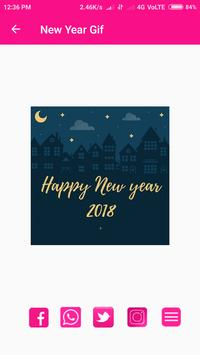 Gif   Happy New Year screenshot 1