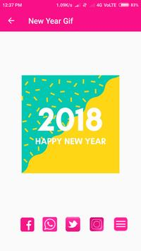 Gif   Happy New Year screenshot 2