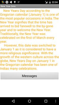 New Year Sms poster