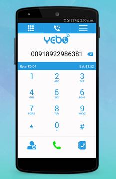 Yebo screenshot 2