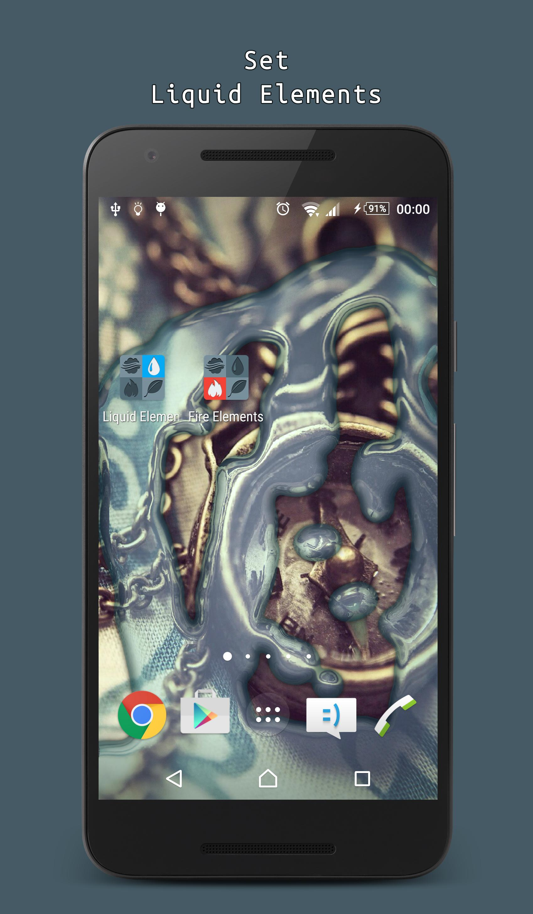 Liquid Elements Live Wallpaper For Android Apk Download