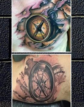 Compass Tattoo apk screenshot