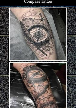 Compass Tattoo poster