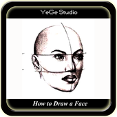How to Draw a Face icon