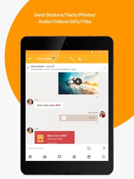 YeeCall - HD Video Calls for Friends & Family apk screenshot