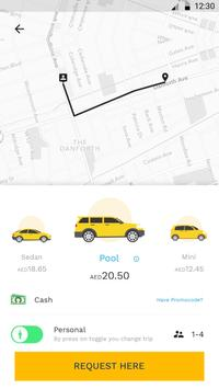 Yelow Taxi User screenshot 1