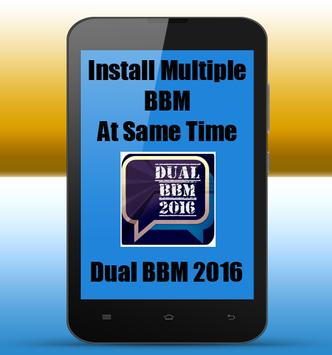 Dual BBM Up TO Date poster