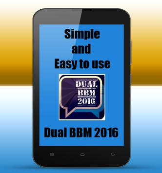 Dual BBM Up TO Date screenshot 1