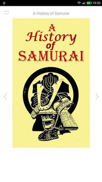 A History of Samurai poster