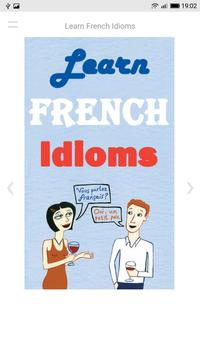 Learn French Idioms poster
