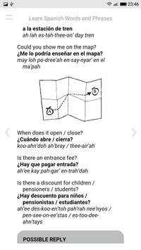 Learn Spanish Words and Phrases screenshot 11