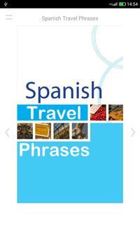 Spanish Travel Phrases poster