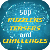 500 Puzzlers Teasers and Challenges icon