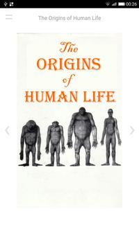 The Origins of Human Life poster