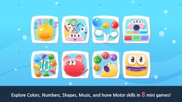 Jelly 8 - Giant Slime Game apk screenshot