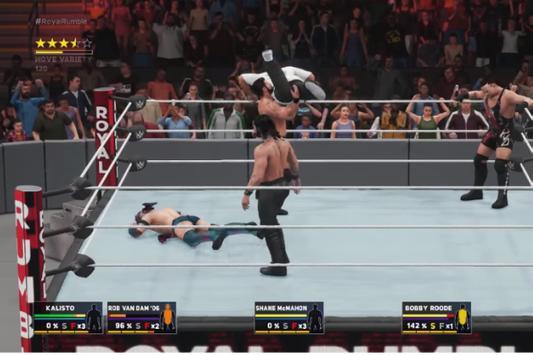 ++Cheat WWE 2K18 Man Rumble Guide poster
