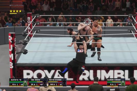 ++Cheat WWE 2K18 Man Rumble Guide screenshot 1