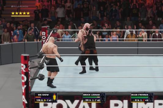 ++Cheat WWE 2K18 Man Rumble Guide screenshot 5