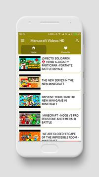 Manucraft videos HD screenshot 2