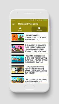 Manucraft videos HD screenshot 3