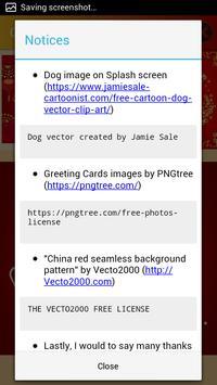 Chinese New Year 2018 Greeting Cards screenshot 2