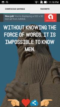 Confucius Sayings screenshot 1