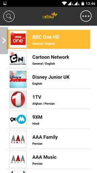 Yellow TV apk screenshot