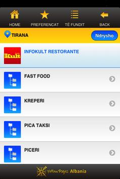 Albania Yellow Pages apk screenshot