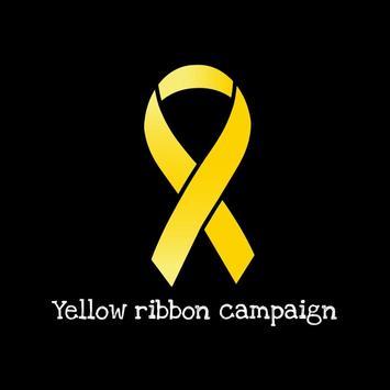 Yellow ribbon campaign poster