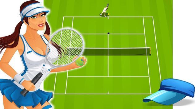 Super Tennis Master Game captura de pantalla 1