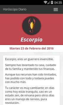 Escorpio Horoscopo Diario apk screenshot
