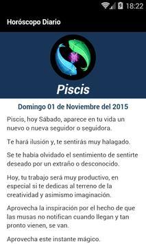 Piscis Horoscopo Diario apk screenshot
