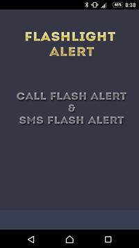 Call & SMS Alert Flashlight screenshot 2